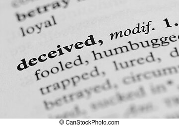 Dictionary Series - Deceived