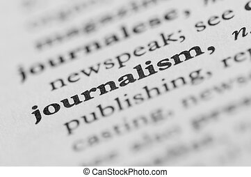 Dictionary Series - Journalism