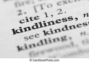 Dictionary Series - Kindliness