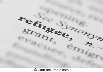 Dictionary Series - Refugee