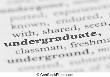 Dictionary Series - Undergraduate