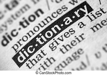 Dictionary Word Text