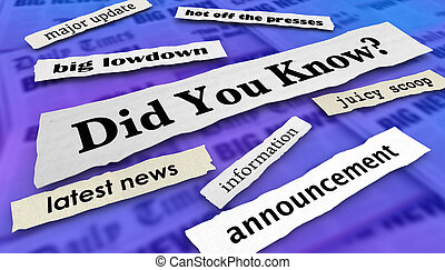 Did you know Clip Art and Stock Illustrations. 380 Did you ...
