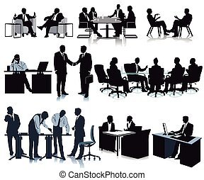 die Firma - Meeting in the office, conference, discussion, ...