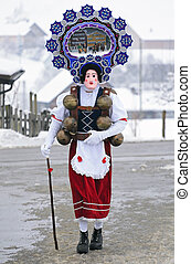 Die Schonen Klause - St Sylvester mummers (Silvesterklausen)...