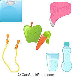 dieet, iconen