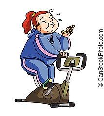 dieet, oefening