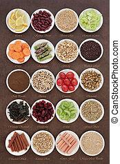 dieet, superfood, selectie