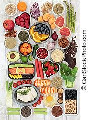 dieet voedsel, sampler