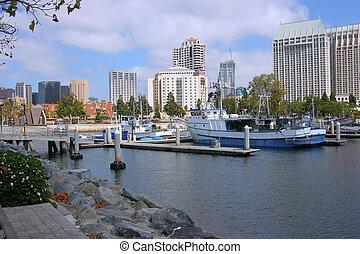 diego, marina, san, california.