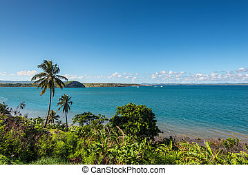 Landscape of the Antsiranana bay (Diego Suarez), northern Madagascar, East African Islands, Africa