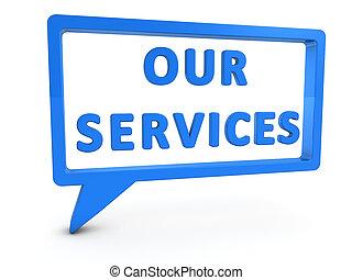 dienstleistungen, unser