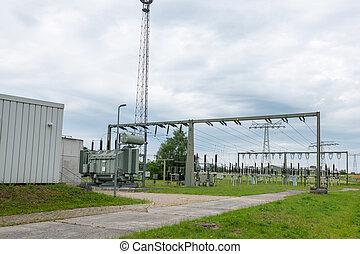dient, graus, eines, energieversorgungsunternehmens, der,...