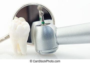 dientes sanos, concepto