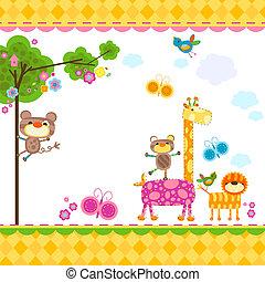 dieren, achtergrond