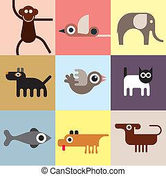 dieren, en, huisdieren
