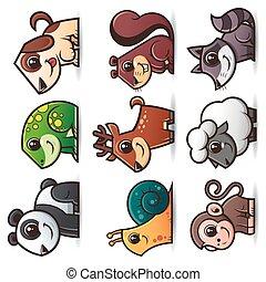 dieren, stripfiguren