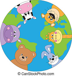 dieren, wereld