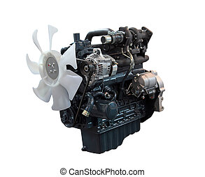 Diesel engine - The new diesel engine with a turbo-...