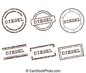 diesel, francobolli