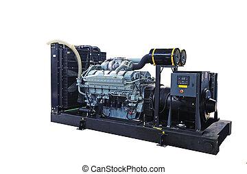Diesel generator - Mobile diesel generator for emergency...