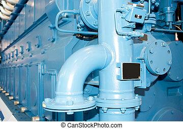 diesel, generator