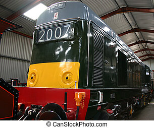diesel, locomotief