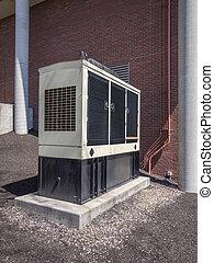 diesel, reserv, generator