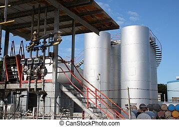 Diesel reserve plant - Diesel reserve tanks and pumps