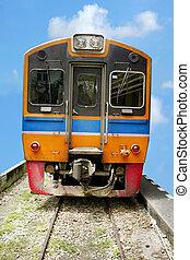 diesel, trem