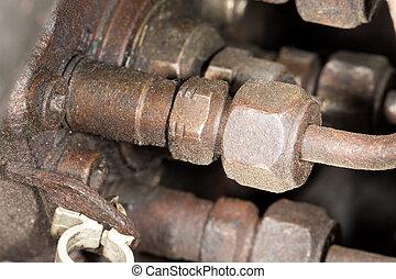 diesel, vybavení, od vagón