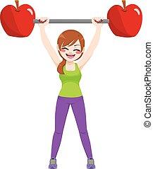 Diet Healthy Sport Girl