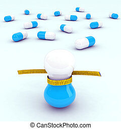 diet pills with tape