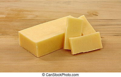 Diet Sharp Cheddar Cheese - A bar of reduced fat sharp...