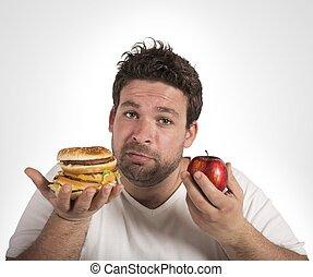 Diet vs junk food