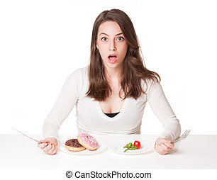 dieta, dilemma.