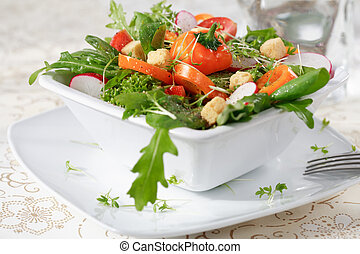 dieta, salada