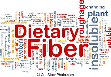 Dietary fiber background concept - Background concept...