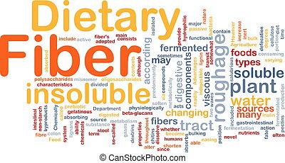 Dietary fiber background concept - Background concept ...