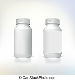 dietisk, tillägg, medicines., flaska