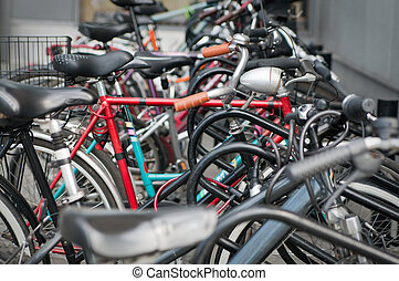 diferente, bicicletas