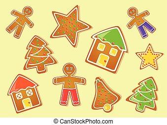 diferente, biscoitos natal