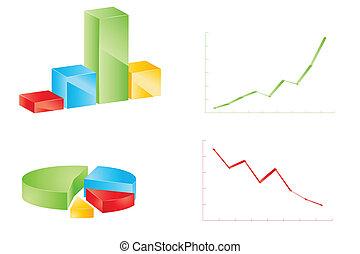 diferente, Conjunto, gráficos