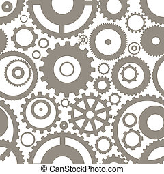 diferente, engrenagem, seamless, textura, rodas, ou