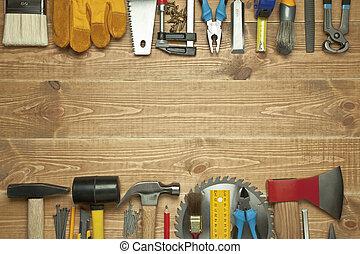 diferente, ferramentas