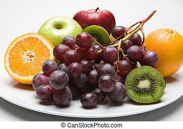 diferente, fruits