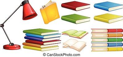 diferente, jogo, livro