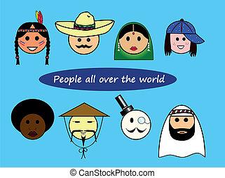 diferente, nacionalidades