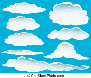 diferente, nubes