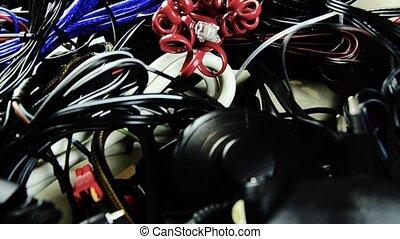 différent, électrique, telephone., beaucoup, ...